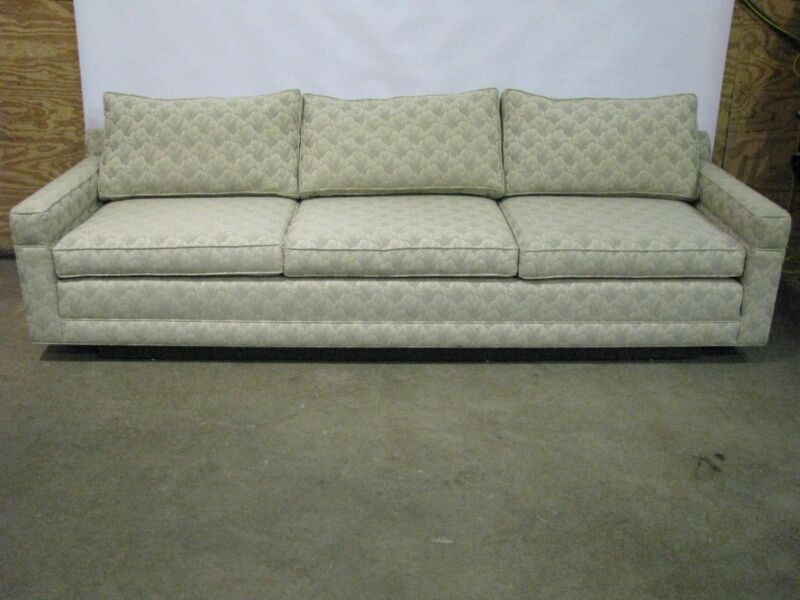 """Exceptional 100"""" Long Mid-Century Modern Sofa; Probber / Baughman Style"""