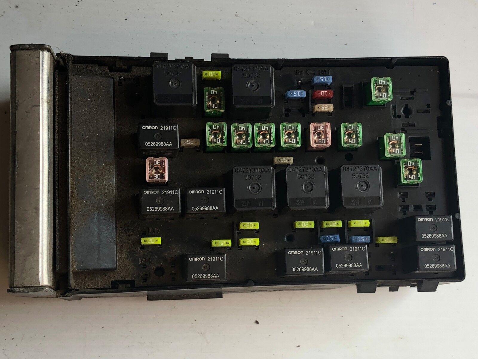 2003 Dodge Caravan Fuse Box Wiring Library Jaycar 2005 Relay Control Module Unit 05144506ac Oem