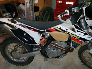 2012 ktm exc full rebuild new parts
