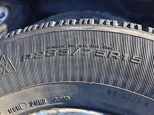 Ford Ranger 4x4 set of winter rims and tires