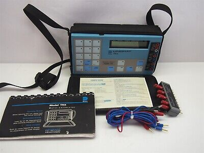 Druck Unomat Trx Portable Calibrator With Case Plug In Module Manual