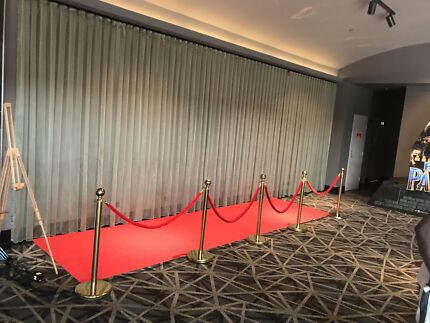 Red Carpet and Bollards $180 HIRE