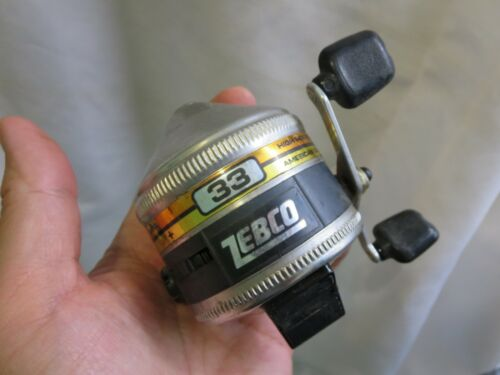 INTAGE ZEBCO 33 FISHING REEL MADE IN USA KCA2