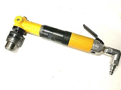 Atlas Copco Pneumatic 90 Degree Drill 500 Rpms Aircraft Tools 12 Rohm Chuck