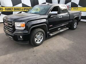 2015 GMC Sierra 1500 SLE, Crew Cab, Back Up Camera, 4*4, 52,000k