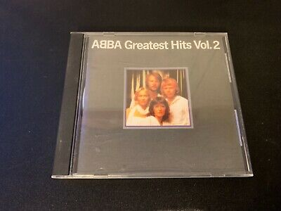 ABBA - GREATEST HITS VOL 2 [USA ATLANTIC PDO CD] RARE OOP