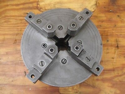 Lodge And Shipley Lathe 912 Inches 4 Jaw Chuck Vintage