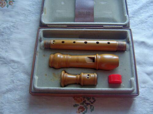 Wooden Moeck Rottenburgh 129 Soprano / Descant Recorder, Baroque,Boxwood,excl