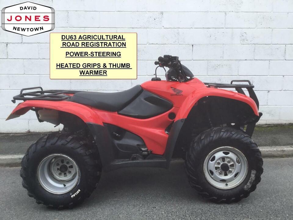 2013 HONDA TRX420FPM MANUAL P/S FOURTRAX 4x2x4 4WD QUAD ATV FOUR WHEELER