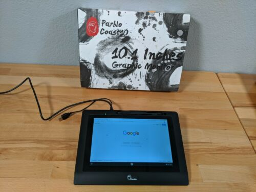 """Parblo 10.1"""" Coast10 Graphics Drawing Tablet LCD Monitor"""