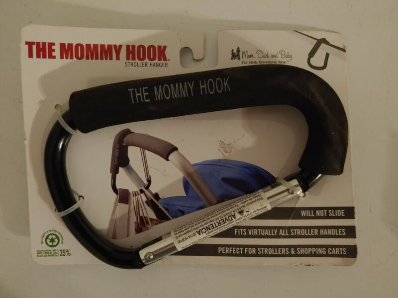 The Original Mommy Hook Stroller Accessory Black 1 Pack New