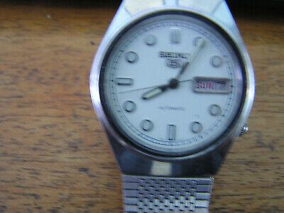 Vintage Seiko 5 Automatic Watch