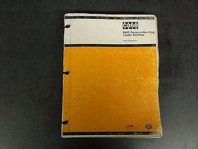 Case 680g Construction King Loader Backhoe Parts Catalog  1377