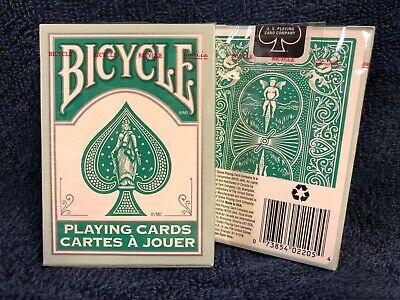2 DECKS Bicycle Teal Rider Back playing cards