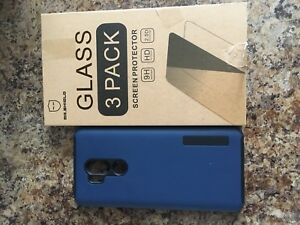 LG G7 Case and 3 temper screen protection