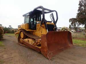 AS NEW 2017 CATERPILLAR D6R2 ONLY 550HRS TRACKED CRAWLER CRAWLER BULL DOZER BOBCAT EXCAVATOR KOMATSU Austral Liverpool Area Preview
