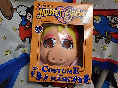 Miss Piggy Muppet Babies Halloween Costume Ben Cooper 1985 Original Box](Infant Boxing Halloween Costumes)