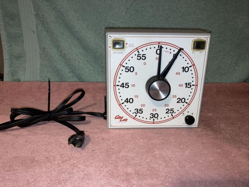 GraLab Timer Model 167 Universal Analog 60 Minute Timer
