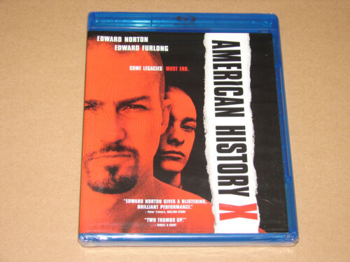 American History X (blu-ray Disc, 2009)   ***new Factory Sealed***
