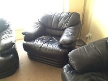 $200 Black leather lounge suit Caboolture South Caboolture Area Preview