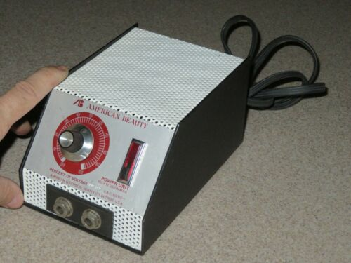 AMERICAN BEAUTY 105A12 Resistance Soldering Power Unit~SUPERB Looking & WORKING!