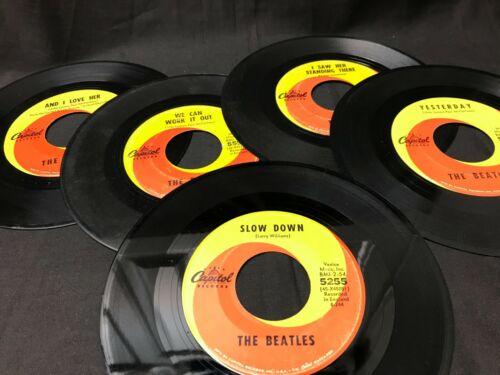 Original Beatles 45 RPM Collection