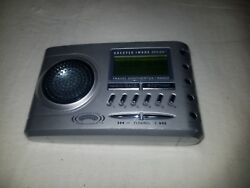 Sharper Image Travel Soother 20 Radio Alarm Clock Sound Therapy S1621