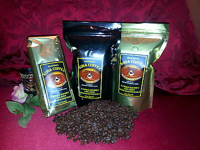 100% Kona - Whole Bean Coffee - ONE POUND Bag Fresh (Roast Whole Bean Coffee)