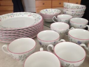 "Johnson Brothers ""Summer Chintz"" 63 pieces"