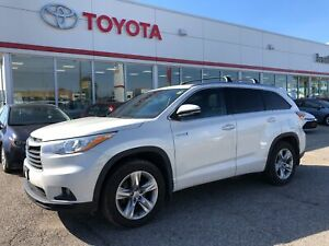 2014 Toyota Highlander Hybrid Limited, Hybrid, 1 Owner, Only 975