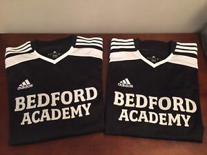 Adidas Bedford Academy PE/gym shirts, youth sz. M, very like new