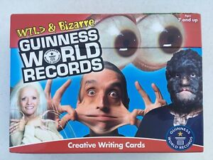 Wild & bizzare guinness world record creative writing cards box