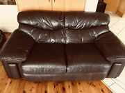 Leather Sofa Putney Ryde Area Preview