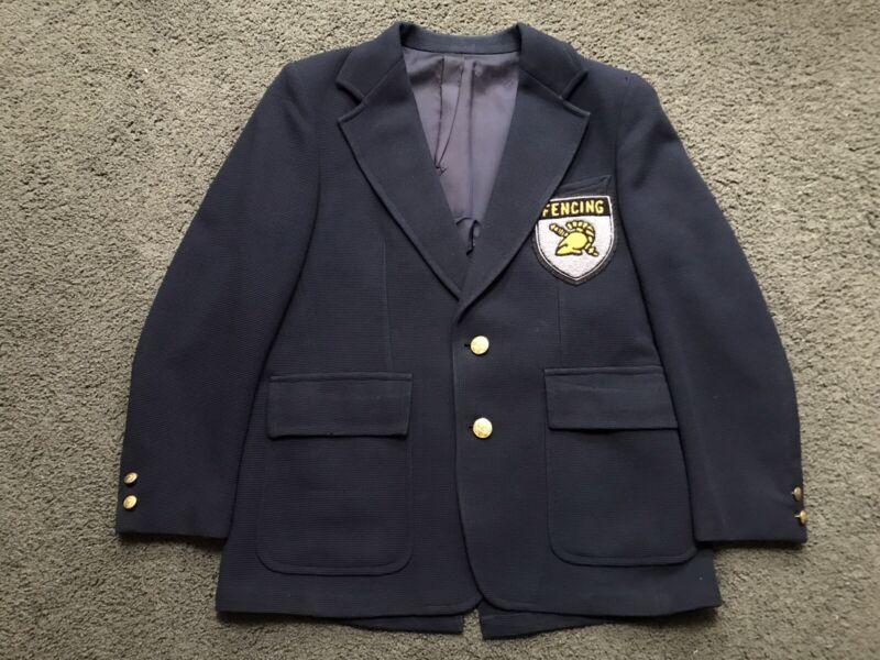 RARE West Point USMA Fencing Jacket Blazer by Stanley Blacker Army