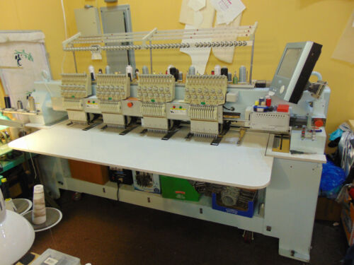 Industrial embroidery  machine four  head,Feiya made