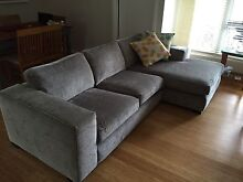 Lounge With Chaise From Taste Living (rrp $2900) Fairlight Manly Area Preview