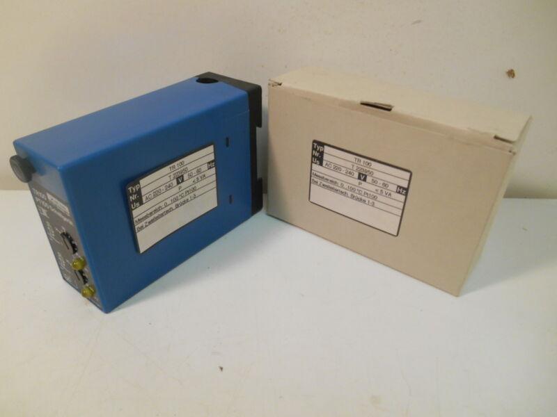 NIB Ziehl TR100 PT100 Thermostat Switch Sensor