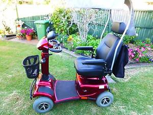 Merits Eclipse II Red Mobility Scooter Moffat Beach Caloundra Area Preview