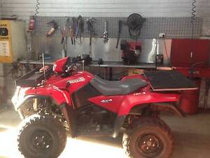 Suzuki Kingquad 750axi 4x4 Bendigo Bendigo City Preview