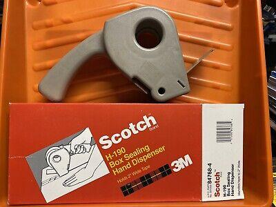 Scotch Box Sealing Tape Dispenser H190 2 In