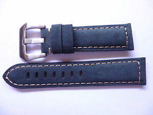 22mm-Watch-Strap-Band-with-Buckle-22-20mm-Blue-Leather-Panerai-Style