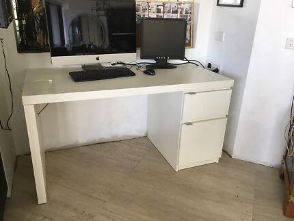 Ikea Malm Desk 140x65