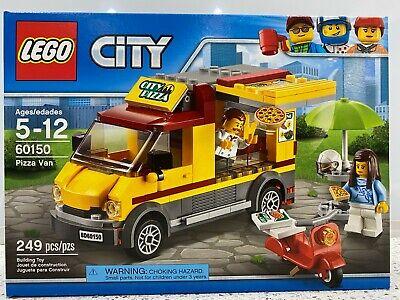 LEGO City Great Vehicles Pizza Van (60150) - New in Sealed Box NIB