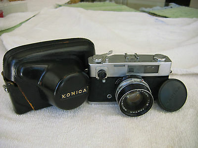 Дальномерные камеры KONICA AUTO S CAMERA