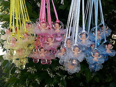 Plastic Pacifier Favors (Pacifier Necklaces With Plastic Baby Shower Game Favors Decorations U-Pick)