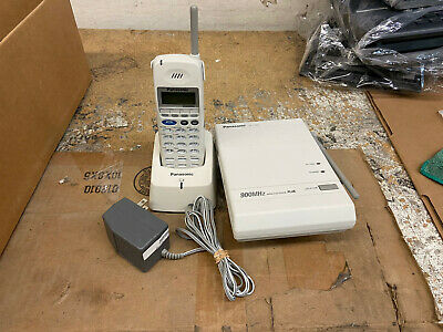 Panasonic Kx-t7885 900mhz Wireless Phone White