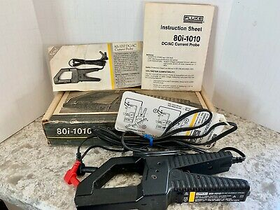 Fluke 80i-1010 Dcac Current Probe 1980s New Old Stock In Original Box