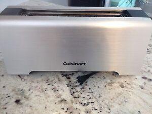 Cuisinart long slot toaster