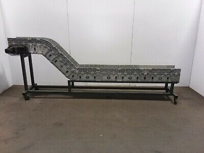 Dyna-con Cleated Incline Modular Conveyor 12 Plastic Belt Variable Speed 120v