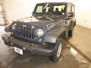 2017 Jeep Wrangler Sport- 4X4! ONLY 19K! CRUISE!